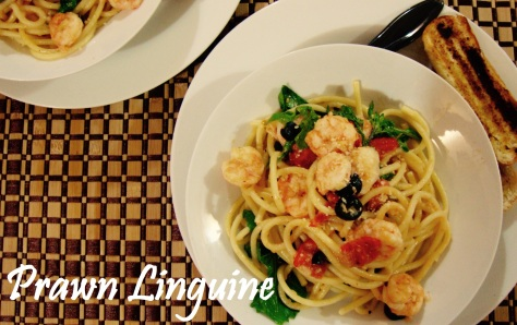 Chili Prawn Linguine