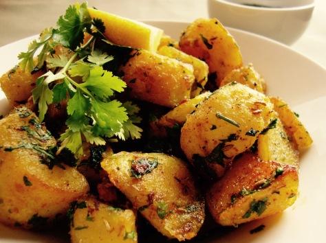Crispy Spiced potatoes