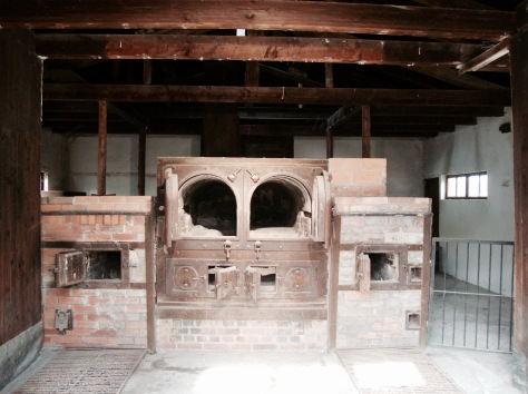 This crematorium was built in the summer of 1940, after the foreign prisoners arrived and the mortality rate greatly increased.
