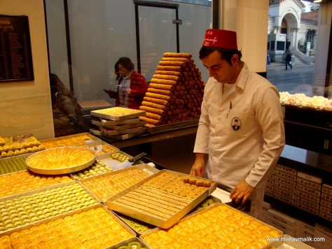The famous Hafiz Mustafa - Baklava shop