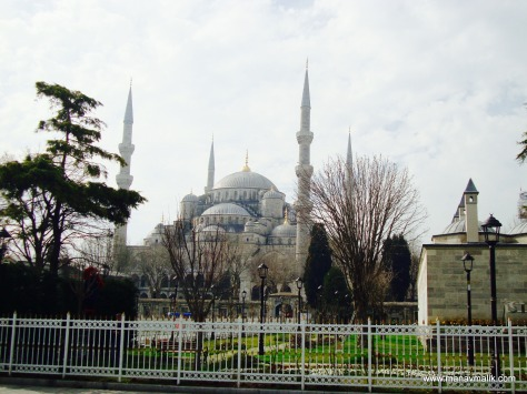 Sultan Ahmet Camii or The Blue Mosque