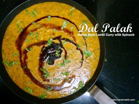 Dal Palak Cover
